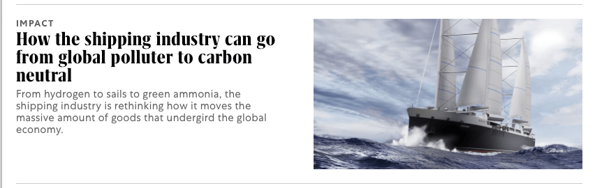 How the shipping industry can go from global polluter to carbon neutral